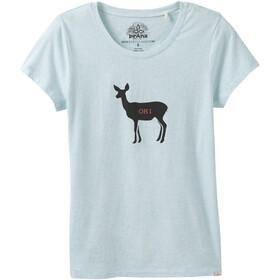 Prana Graphic Tee Dam aqua deer